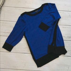 EUC Cable & Gauge Colorblock Sweater